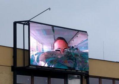 reklama na ledce